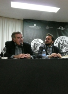 Javier Velasco Oliaga y David Felipe Arranz en pleno debate
