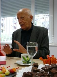 Emilio Lledó (Fotos: Julia Labrador)