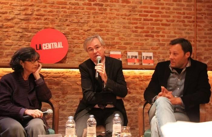 Pilar Gómez Bedate, Max Lacruz y Luis Morales