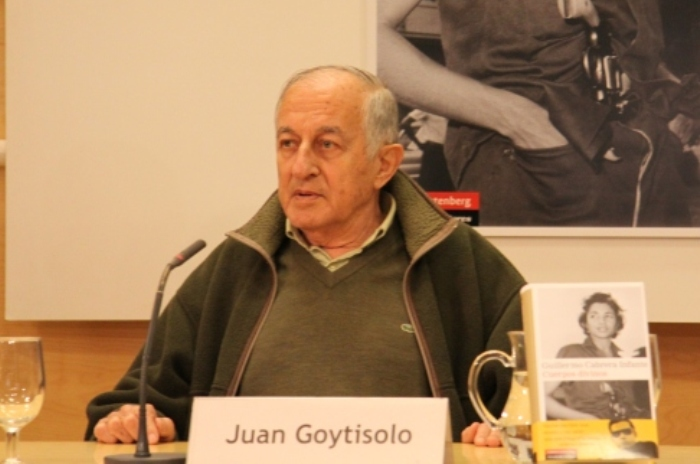 Juan Goytisolo ha sido galardonado con el Premio Miguel de Cervantes de las Letras 2014