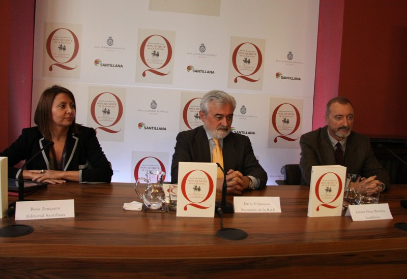 Rosa Junqueras, Dar�o Villanueva y Arturo P�rez-Reverte
