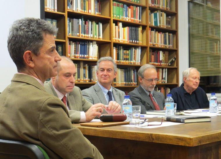 Juan Blánquez Pérez; Carlos Comas- Mata Mira; Eduardo Ferrer Albelda; Sebastián Celestino Pérez y Michael Blech
