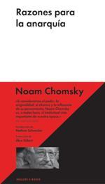 'Razones para la anarquía', la última obra del linguísta y pensador Noam Chomsky