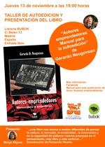 """La librería Bubok realizará mañana su primer taller de autoedición y presentará el libro """"Autores-emprendedores"""""""