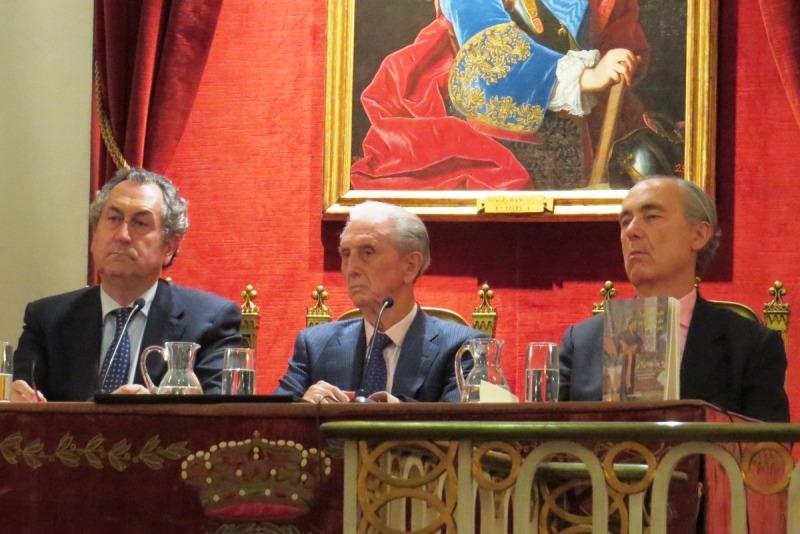 """Presentación del libro """"Las ascuas de un crepúsculo dorado"""", de José Alcalá-Zamora"""