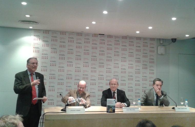 Josep Ramón Bosch, Jaume López, José Montilla e Iñaki Gabilondo