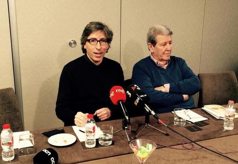 David Trueba y Jorge Herralde