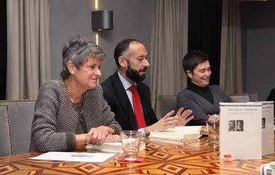 María Jesús Fraga, Javier Expósito y Nuria Capdevila-Argüelles