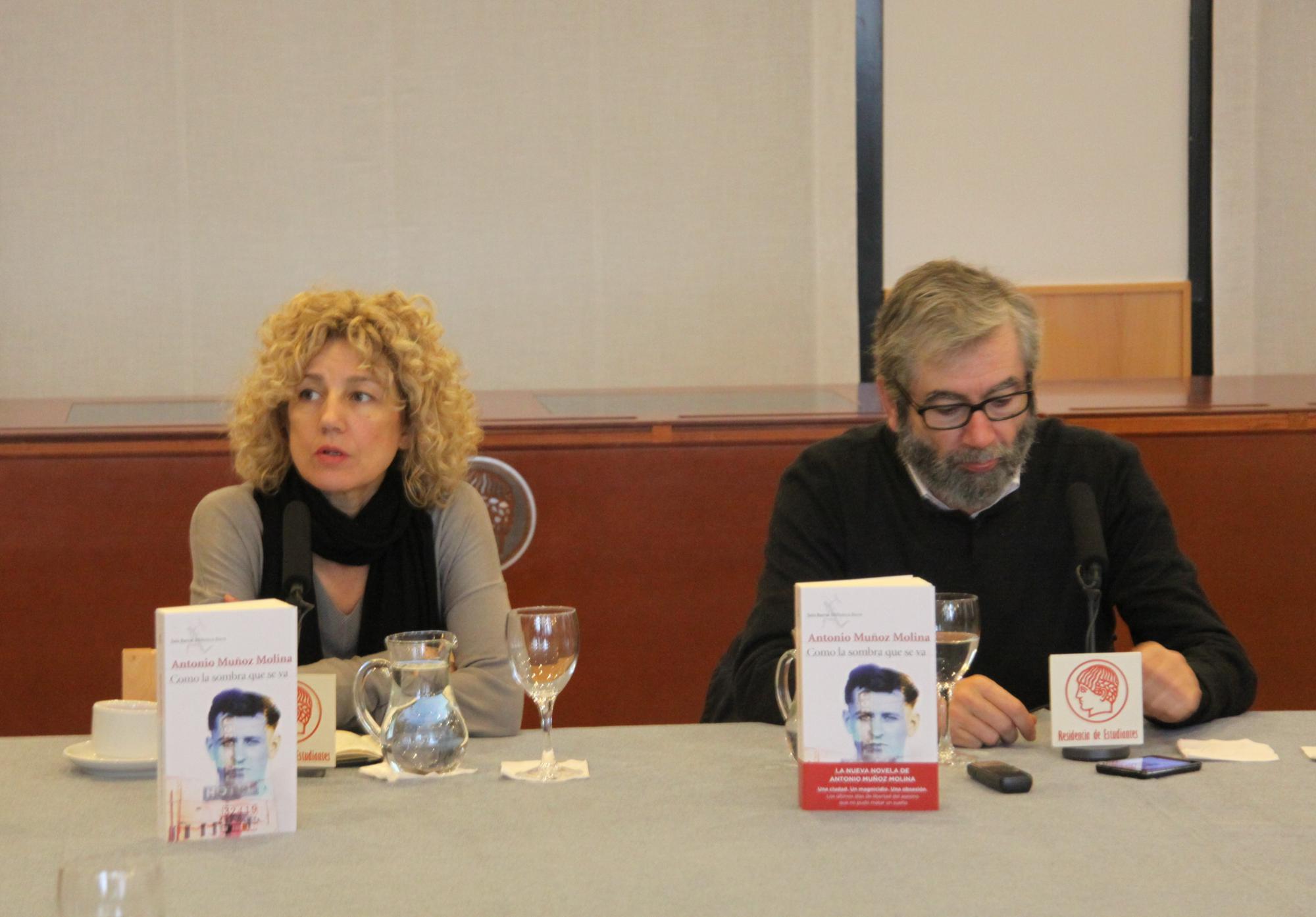 "Antonio Muñoz Molina presenta su novela ""Como la sombra que se va"""