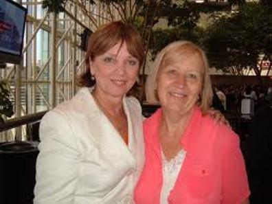 Nora Roberts y Mary Higgins Clark