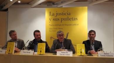 David Trías, Paco Pardo, Eduardo Torres Dulce y Quico Tomás-Valiente