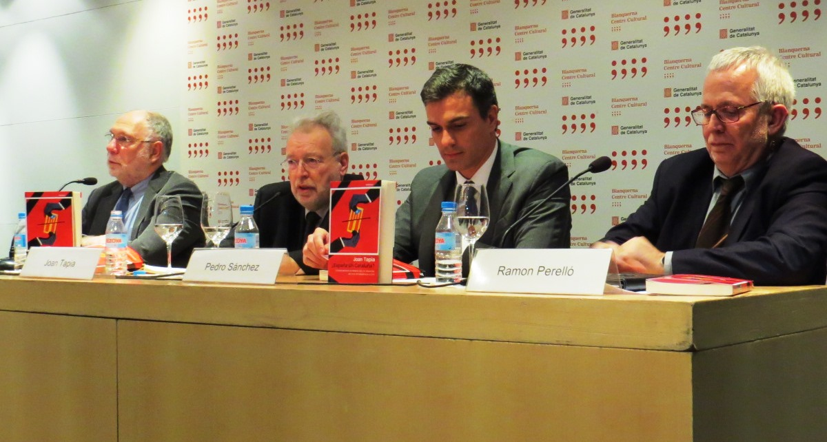 Presentación del libro ¿España sin Cataluña?, de Joan Tapia