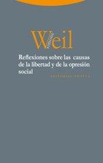 """Simone Weil publica el ensayo """"Reflexiones sobre las causas de la libertad y de la opresión social"""""""