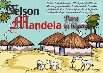 El escritor Germán Díez Barrio y la ilustradora Angelines San José resucitan en formato cómic a 'Nelson Mandela: para la libertad'