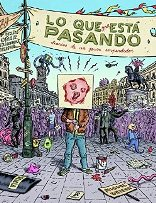 'Lo que (me) está pasando' la primera novela gráfica del dibujante Miguel Brieva