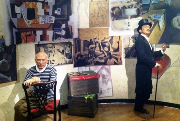 Dalí y Picasso se distanciaron por supuestas desavenencias ideológicas
