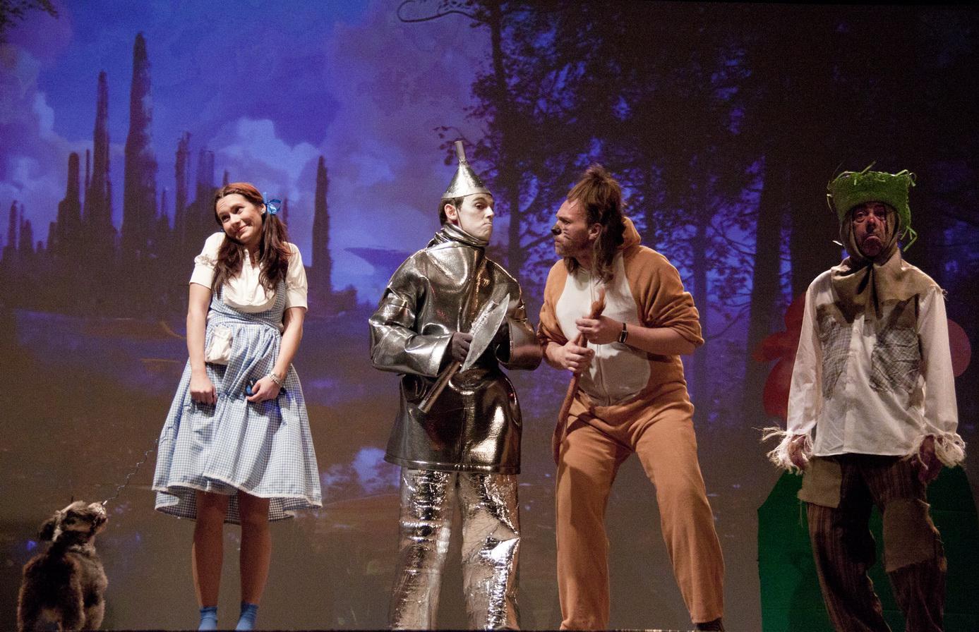 La compañía de teatro