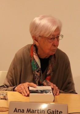 Ana Martín Gaite (Fotos: Javier Velasco)