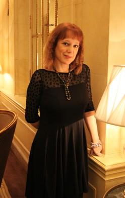 Ángela Vallvey (Fotos: Javier Velasco)