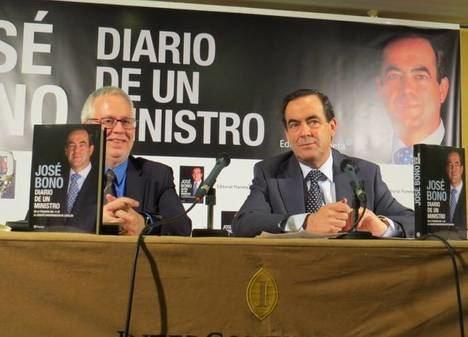 """Presentación del libro """"José Bono. Diario de un ministro"""""""