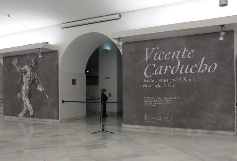 """Exposición: """"Vicente Carducho: teoría y práctica del dibujo en el siglo de oro"""""""