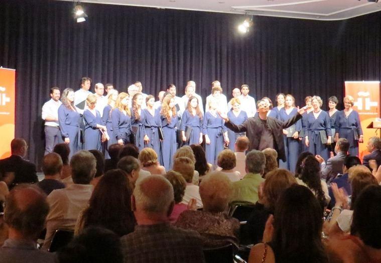 El Coro de la Universidad CEU San Pablo brindó una brillante actuación en el Instituto Cervantes