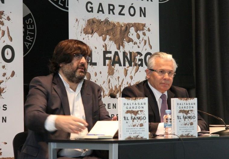 Miguel Aguilar y Baltasar Garzón