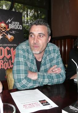 Javier Broco (Fotos: Julia María Labrador Ben)