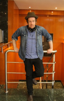 Kevin Barry (Fotos: Javier Velasco)