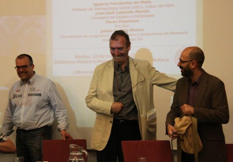 Ignacio Fernández de la Mata, Juan José Laborda y Óscar Esquivias