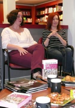 Pilar Lozano y Ana Alonso (Fotos: Julia María Labrador Ben)