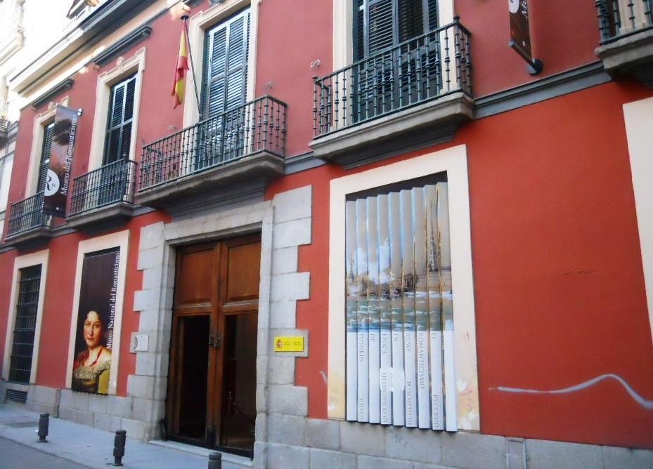El Museo del Romanticismo est� situado en la madrile�a calle de San Mateo n�mero 13