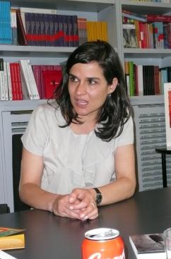 Carolina Sanín (Fotos: Julia María Labrador Ben)