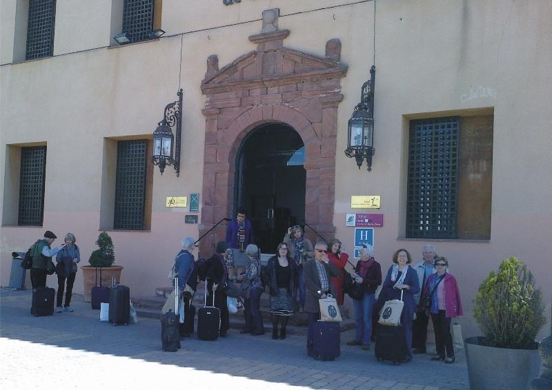 Éxito de convocatoria en el viaje literario por la ruta de don Quijote