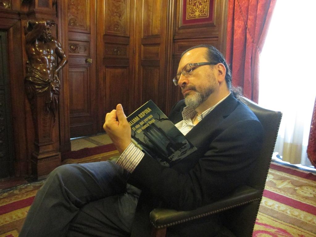 Entrevista a William Ospina, autor de