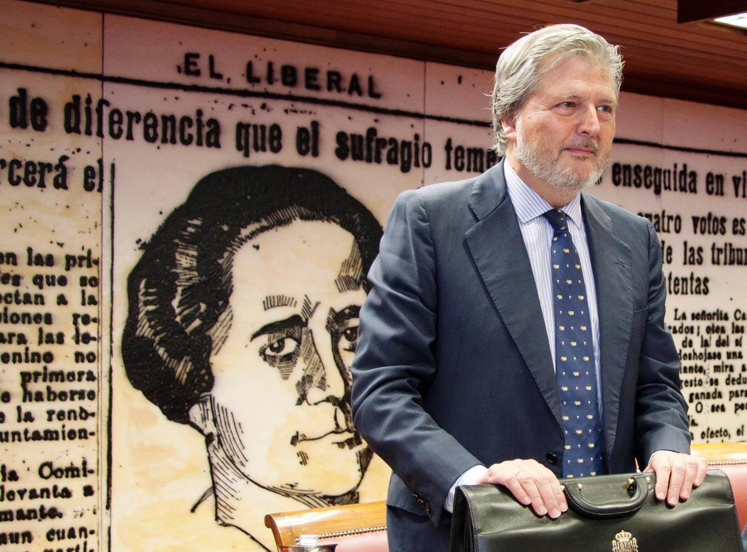 El ministro de Educación, Cultura y Deporte, Iñigo Méndez de Vigo, anuncia la puesta en marcha de un Plan Integral de Fomento de la Lectura
