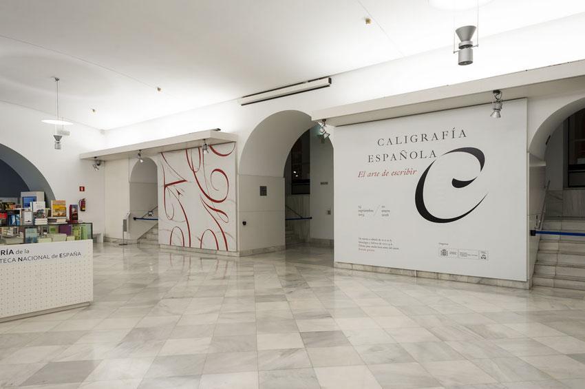 """Presentación de las exposiciones """"Caligrafía española. El arte de escribir"""" y """"Caligrafía hoy. Del trazo al concepto"""""""