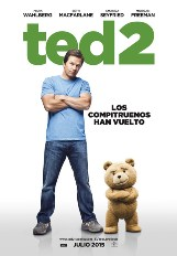"""""""Ted 2"""", coproducida, coescrita, dirigida y protagonizada en el doblaje en versión original por Seth MacFarlane"""