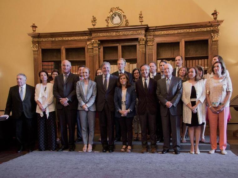 Se ha celebrado en la Biblioteca Nacional de España (BNE) la reunión constitutiva del Pleno de la Comisión Nacional para la conmemoración del IV centenario de la muerte de Miguel de Cervantes
