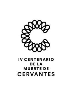 Logotipo del IV Centenario de la muerte de Miguel de Cervantes