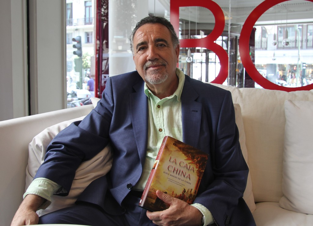 """Entrevista a Jesús Maeso de la Torre, autor de """"La caja china"""""""