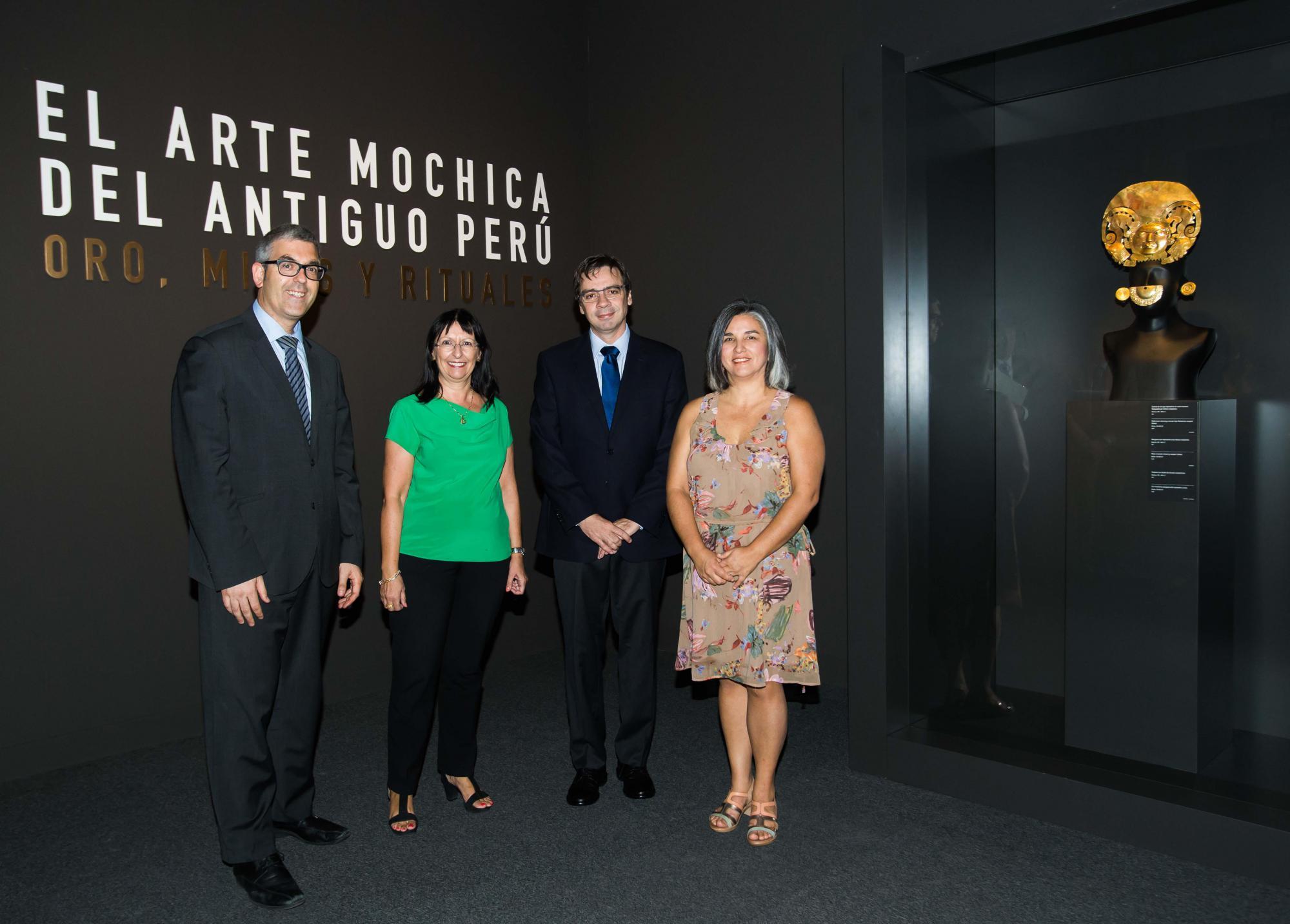 """Exposición: """"El arte mochica del antiguo Perú. Oro, mitos y rituales"""""""