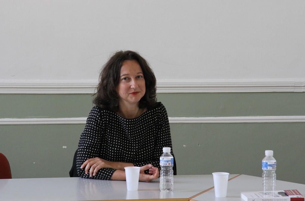 """Muriel Barbery presenta en Madrid su nueva novela, """"La vida de los Elfos"""""""