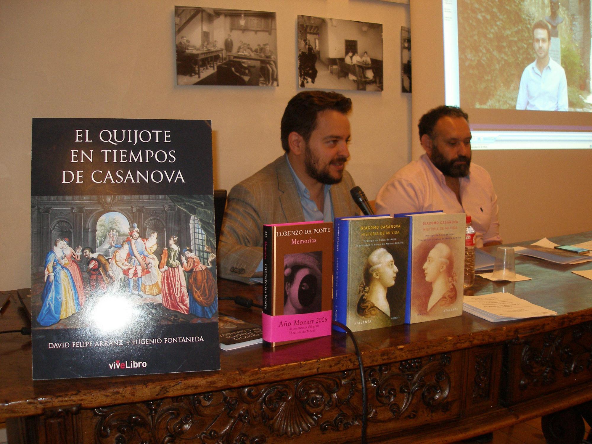 David Felipe Arranz e Ignacio Rodr�guez