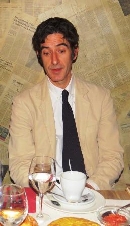 Ignacio Garmendia, editor de la Fundación José Manuel Lara