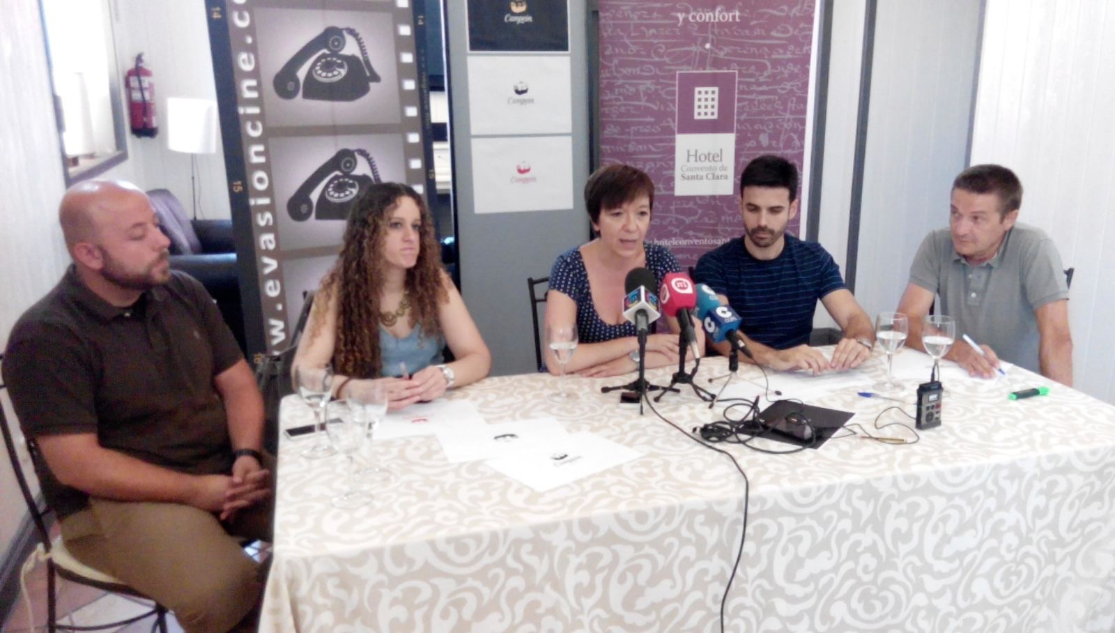 "Rueda de prensa de la presentaci�n de ""Campe�n"""