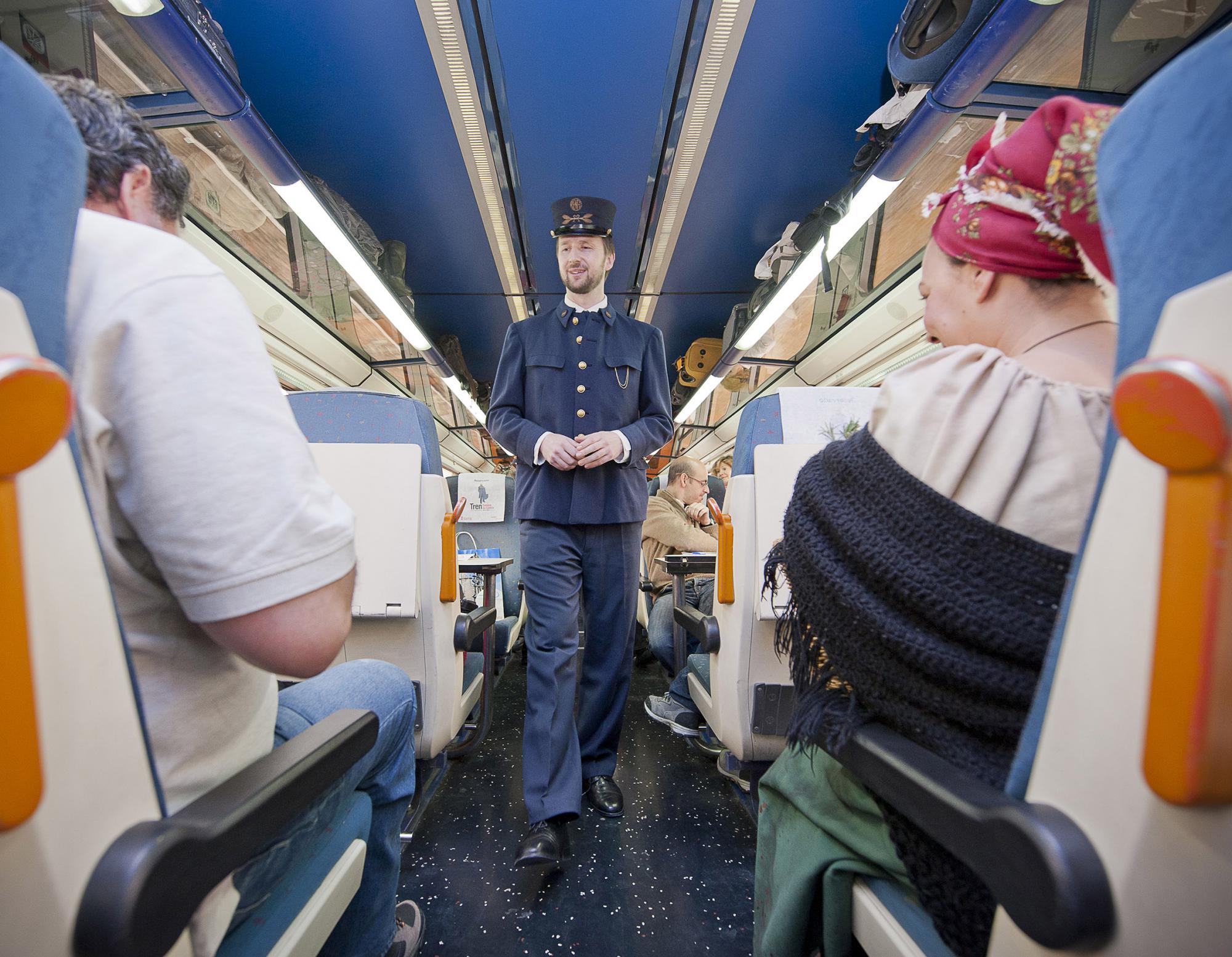 """Vuelve el Tren """"Campos de Castilla"""" para descubrir los secretos literarios mejor guardados de Soria"""