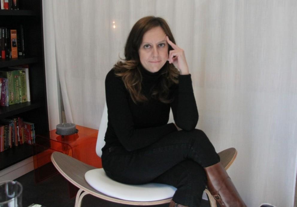 Virginia Gasull, autora de la novela