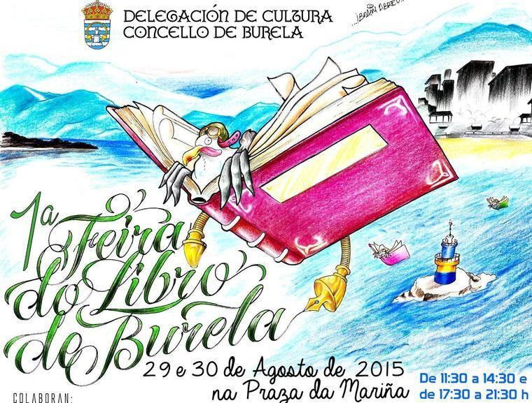 I Feria del Libro de Burela