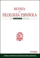 Revista de Filolog�a Espa�ola